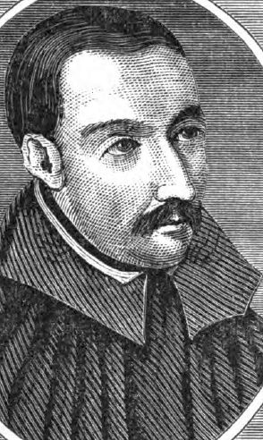 illustration of Father Robert Southwell, SJ, artist unknown, published in the Illustrated Catholic Family Annual, 1873