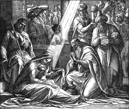 illustration of Epiphany from Goffine's Devout Instructions