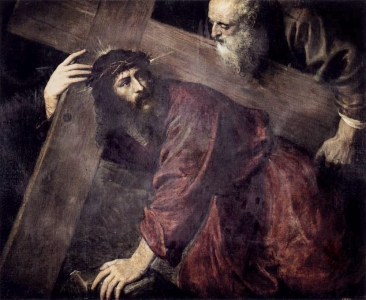 Christ Carrrying the Cross, by Titian, c.1565