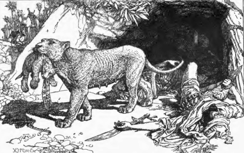How the Lion Saved Malchus