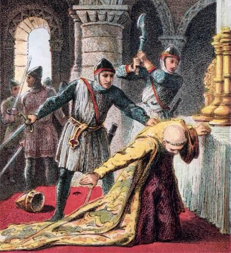 Saint Thomas, Archbishop of Canterbury, and Martyr