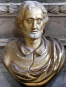 reliquary bust of Modestus of Jerusalem
