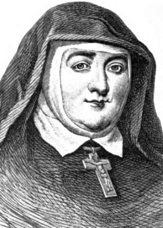 illustration of Venerable Mary Aikenhead from the 'Illustrated Catholic Family Annual', 1881, artist unknown