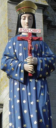 statue of Our Lady of Pontmain