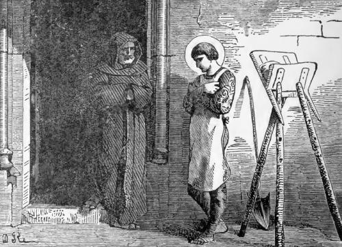 Pictorial Lives of the Saints illustration for Saint Camillus of Lellis