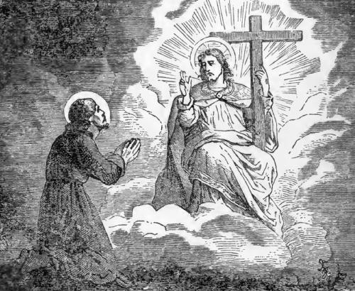 Pictorial Lives of the Saints illustration for Saint Ignatius of Loyola