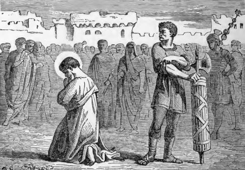 Pictorial Lives of the Saints illustration for Saint James, Apostle