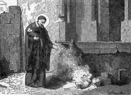 Pictorial Lives of the Saints illustration for Saint Vincent of Paul