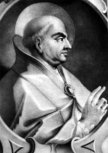 illustration of Pope Saint Martin I, artist unknown, date unknown