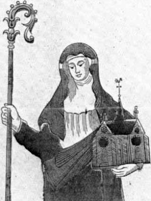Saint Angadrisma of Beauvais