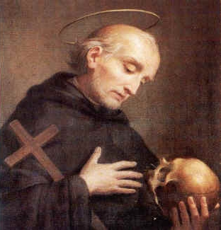 detail of a portrait of Blessed Antonio Migliorati, date and artist unknown