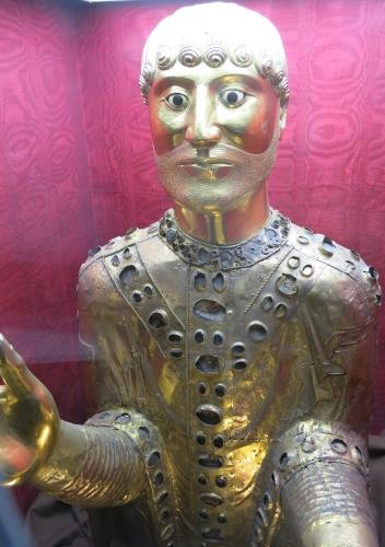 reliquary bust of Saint Baudimius