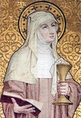 Saint Berlindis of Meerbeke