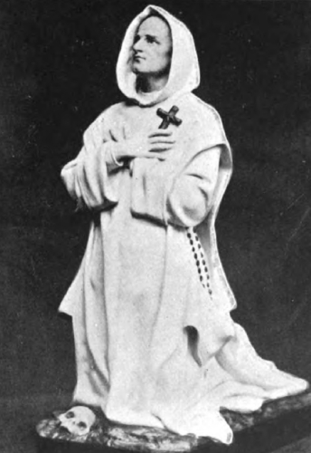 Saint Bruno, Founder of the Carthusians, in Habit and Cowl