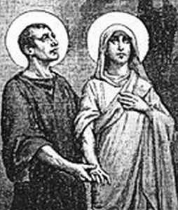 Saint Chrysanthus and Saint Daria