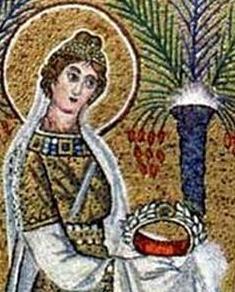 Saint Crispina; swiped off Santi e Beati