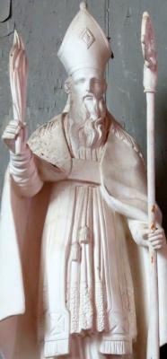 statue of Saint Eternus of Evreux; swiped off Wikimedia Commons