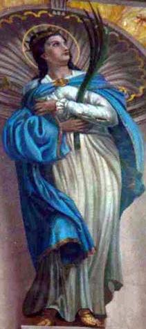 Saint Floriana of Rome