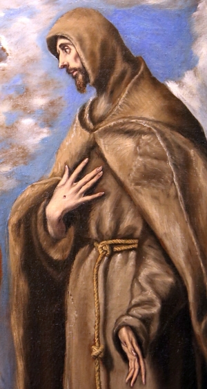 Saint Francis of Assisi by El Greco