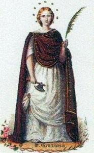 Saint Gracia of Lérida