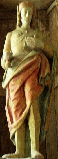 statue of Saint Venec; date unknown, artist unknown; Ch