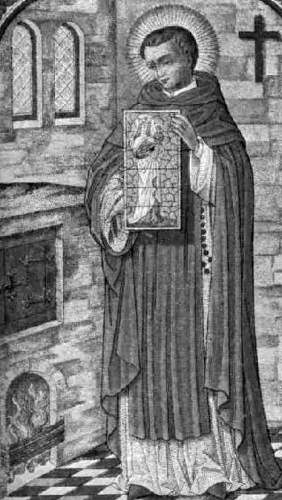 19th century print of Saint James of Ulm, artist unknown