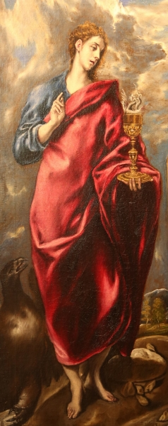 Saint John the Evangelist by El Greco