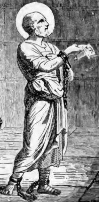 Pictorial Lives of the Saints illustration of Saint Leonidas of Alexandria