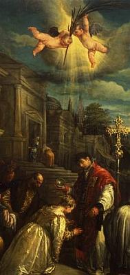 baptism of Saint Lucilla of Rome