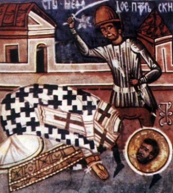 the martyrdom of Saint Methodius of Olympus