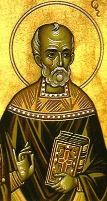 image of Saint Mozio of Constantinople; swiped from Santi e Beati