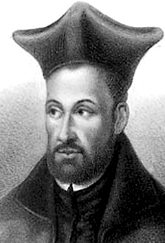 Saint Peter Faber
