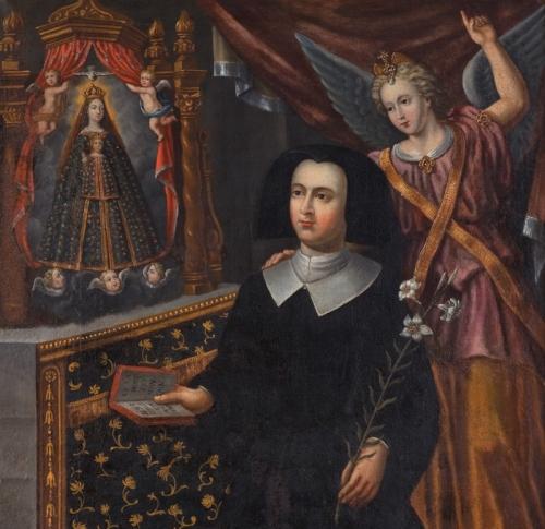 painting of Venerable Anne de Xainctonge, c.1687, artist unknown
