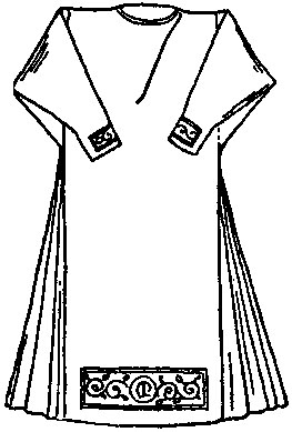 New Catholic Dictionary illustration of an alb