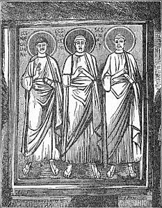 New Catholic Dictionary illustration for 'aureole'