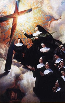 detail from the beatification portrait of the Martyrs of Nowogrodek
