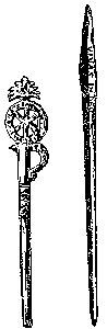 New Catholic Dictionary illustration of 'acus'