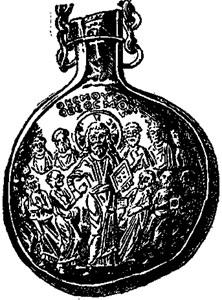 New Catholic Dictionary illustration of 'ampulla'