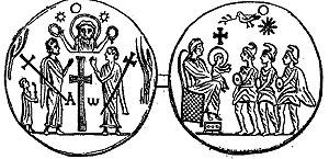 New Catholic Dictionary illustration for 'amulet'
