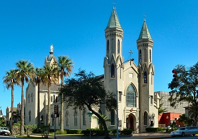Saint Mary's Cathedral Basilica, diocese of Galveston-Houston, Texas; taken by Nick Saum, 31 August 2006; swiped off the Wikipedia web site