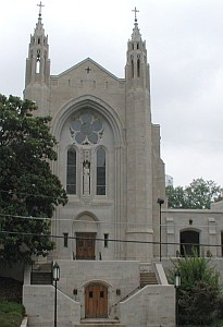 cathedral of Christ the King, archdiocese of Atlanta, Georgia, date unknown, photographer unknown; swiped off the Wikipedia web site