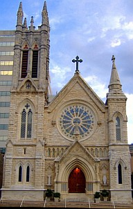 Cathedral of Saint Mary in Austin, Texas; swiped off the Wikipedia web site