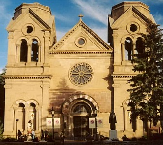 Cathedral Basilica of Saint Francis of Assisi; taken by Carptrash on 2 November 2004; swiped off the Wikipedia web site