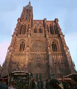 Cathedrale de la Notre Dame, archdiocese of Strasbourg, France; photographed by Thomas Hirsch; swiped off the Wikipedia web site