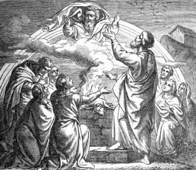 The Sacrifice of Noe