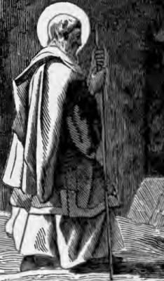 Pictorial Lives of the Saints illustration of Saint Claude