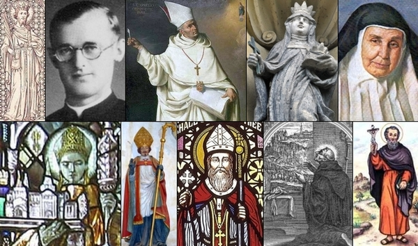some of the saints of 2 March