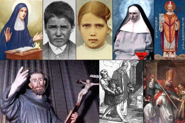 some of the saints and beati of 20 February