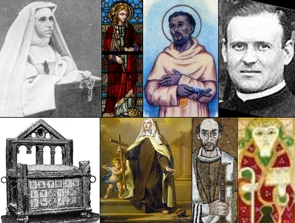 some of the saints and beati commemorated on 22 February