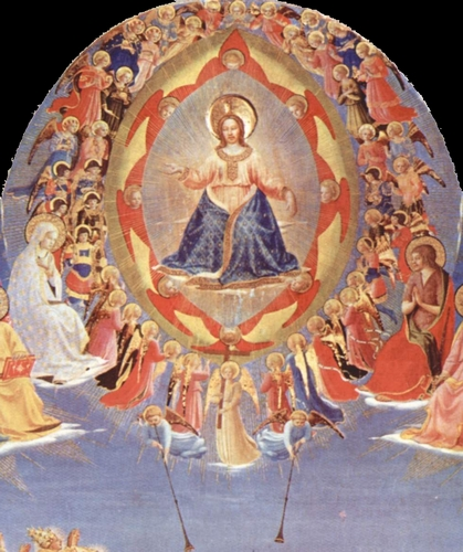 A Glory of Angels by Fra Angelico